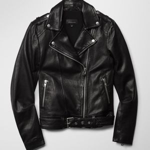 Mackage florica leather jacket
